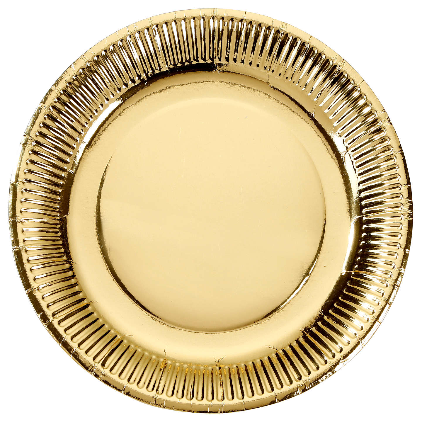 BuyTalking Tables Paper Plates Solid Gold Online at johnlewis.com  sc 1 st  John Lewis : solid paper plates - pezcame.com