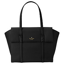Buy kate spade new york Daniels Drive Abigail Leather Shoulder Bag, Black Online at johnlewis.com