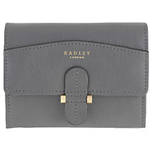 Buy Radley Richmond Park Leather Flapover Purse Online at johnlewis.com