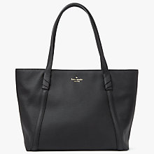 Buy kate spade new york Daniels Drive Cherie Leather Shoulder Bag, Black Online at johnlewis.com