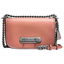 Buy Coach Swagger 20 Glovetanned Leather Shoulder Bag Online at johnlewis.com
