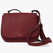 Buy kate spade new york Daniels Drive Tressa Leather Cross Body Bag Online at johnlewis.com