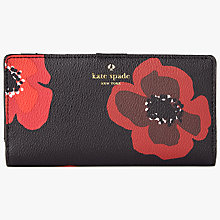 Buy kate spade new york Hyde Lane Stacy Purse, Poppy Online at johnlewis.com