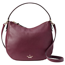 Buy kate spade new york Jackson Street Mylie Leather Shoulder Bag Online at johnlewis.com
