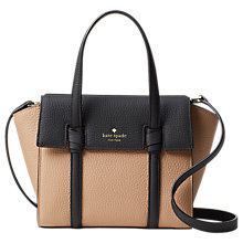 Buy kate spade new york Daniels Drive Abigail Leather Small Satchel Online at johnlewis.com
