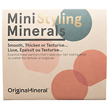 Buy Original & Mineral Mini Hair Styling Set Online at johnlewis.com
