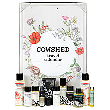 Buy Cowshed Travel Countdown Calendar Online at johnlewis.com