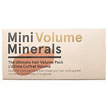 Buy Original & Mineral Mini Minerals Volume Hair Care Kit Online at johnlewis.com