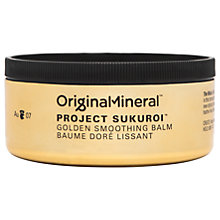 Buy Original & Mineral Project Sukuroi Golden Smoothing Balm, 100ml Online at johnlewis.com