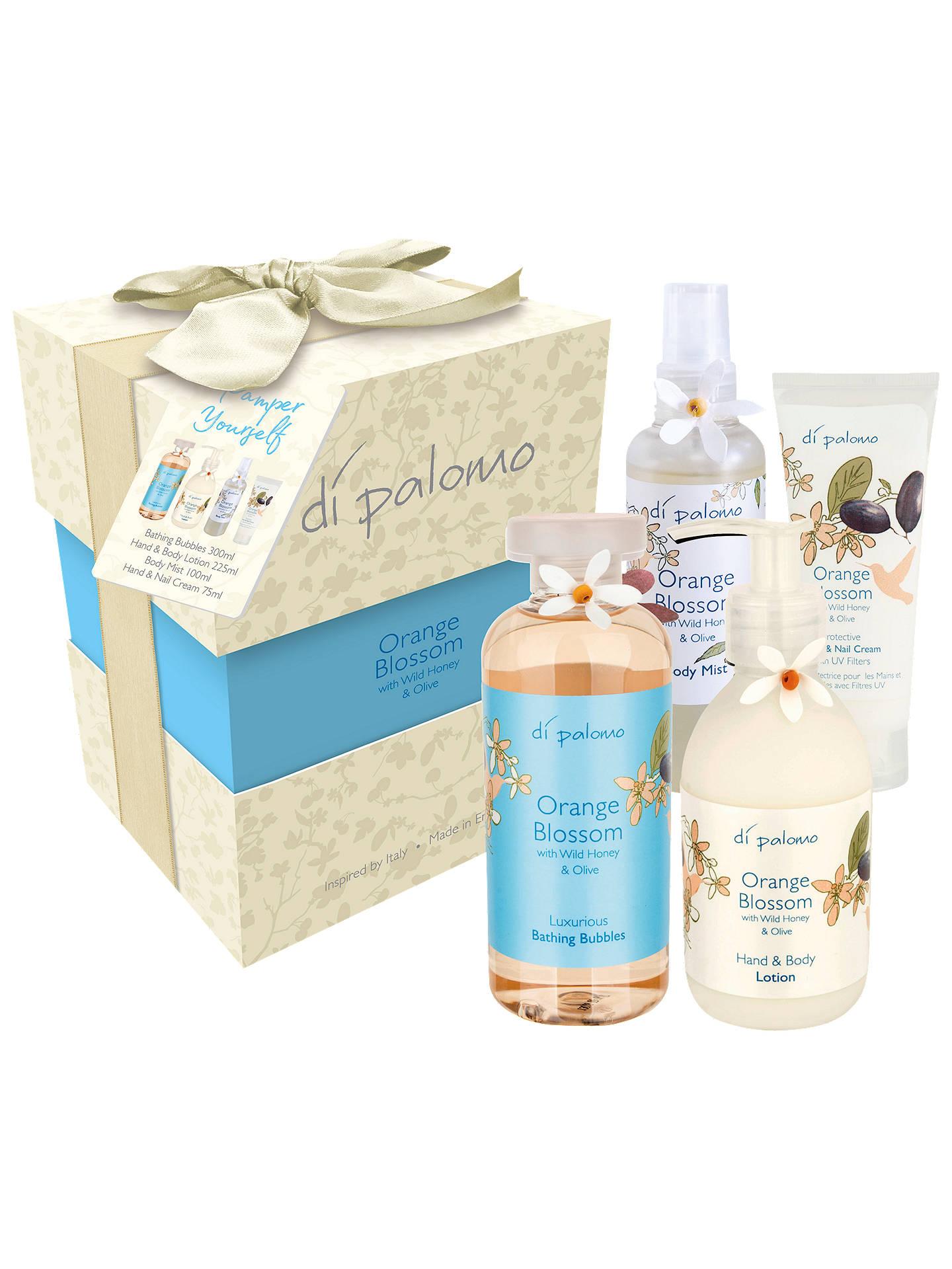 Di Palomo Orange Blossom, Honey & Olive Pamper Yourself Bath & Body ...