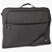 Buy John Lewis Commuteii Garment Carrier, Graphite Online at johnlewis.com