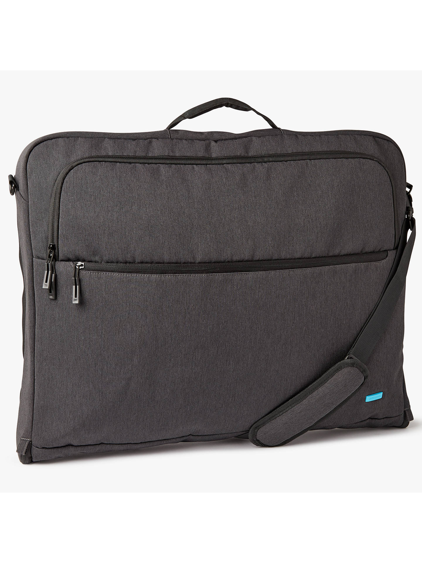 BuyJohn Lewis & Partners Commuteii Garment Carrier, Graphite Online at johnlewis.com