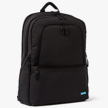 Buy John Lewis Commute II 17-Inch Laptop Backpack, Graphite Online at johnlewis.com
