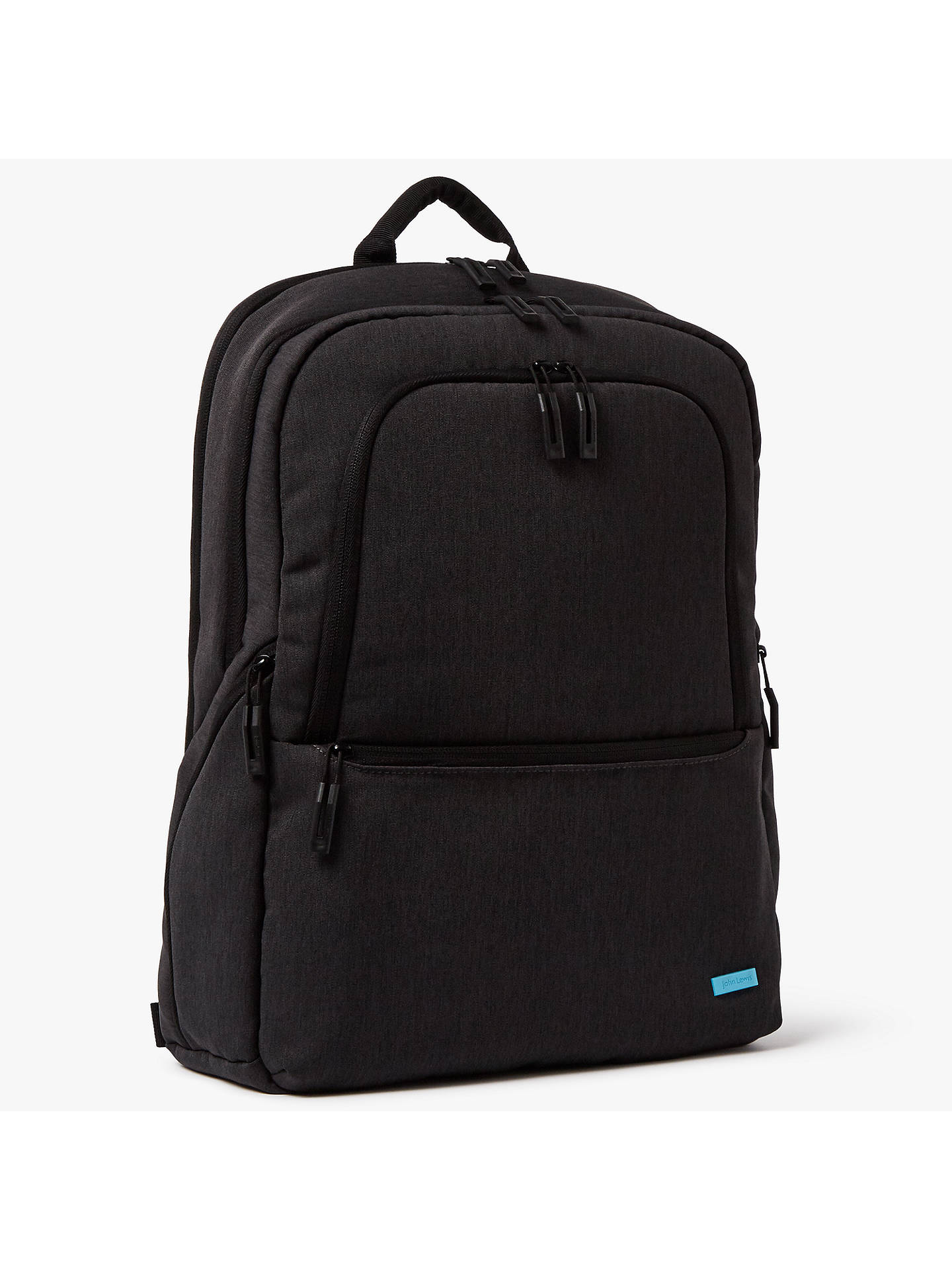 BuyJohn Lewis & Partners Commute II 17-Inch Laptop Backpack, Graphite Online at johnlewis.com