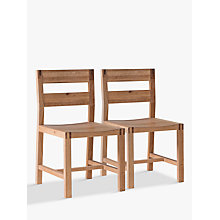 Buy Hudson Living Kielder Dining Chairs, Set of 2, Oak Online at johnlewis.com