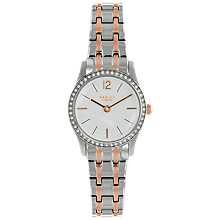 Buy Radley RY4277 Women's Millbank Bracelet Strap Watch, Silver/Rose Gold Online at johnlewis.com