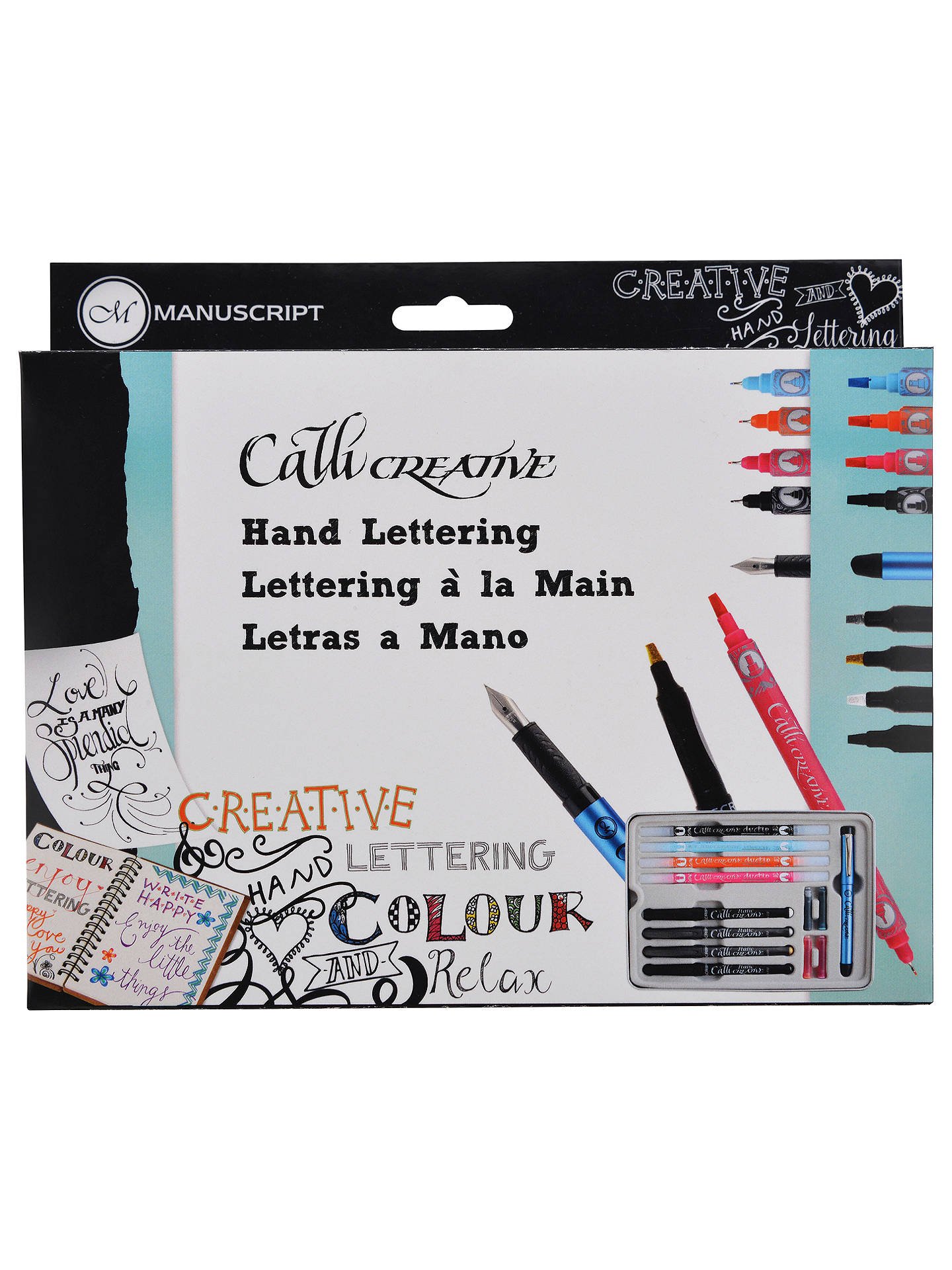 Buy Manuscript Callicreative Calligraphy Hand Lettering Set Online at johnlewis.com