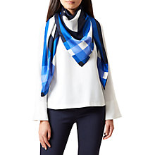 Buy Hobbs Freya Scarf, Navy Online at johnlewis.com