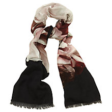 Buy Phase Eight Jennifer Floral Print Scarf, Multi Online at johnlewis.com