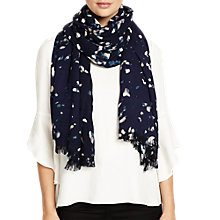 Buy Phase Eight Jago Print Scarf, Navy Online at johnlewis.com
