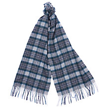 Buy Barbour Land Rover Defender Tartan Scarf, Grey/Multi Online at johnlewis.com