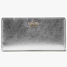 Buy kate spade new york Cameron Street Stacy Continental Purse, Platino Online at johnlewis.com