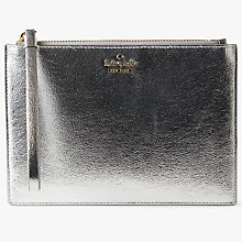 Buy kate spade new york Highland Drive Yury Wristlet Purse, Platino Online at johnlewis.com