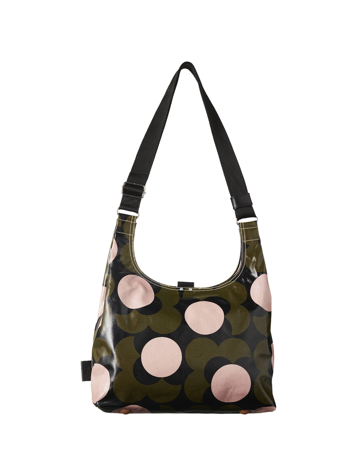 BuyOrla Kiely Shiny Laminated Shadow Flower Print Shoulder Bag 0695e99ae4b1a