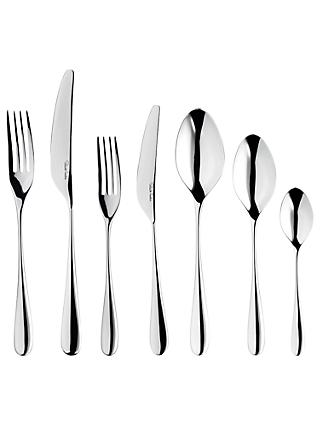 Robert Welch Arden Stainless Steel Cutlery Set, 84 Piece