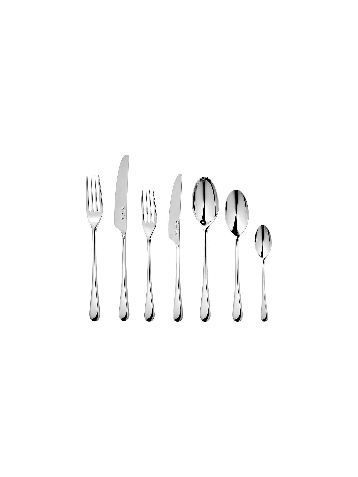 BuyRobert Welch Iona Stainless Steel Cutlery Set, 84 Piece Online at johnlewis.com