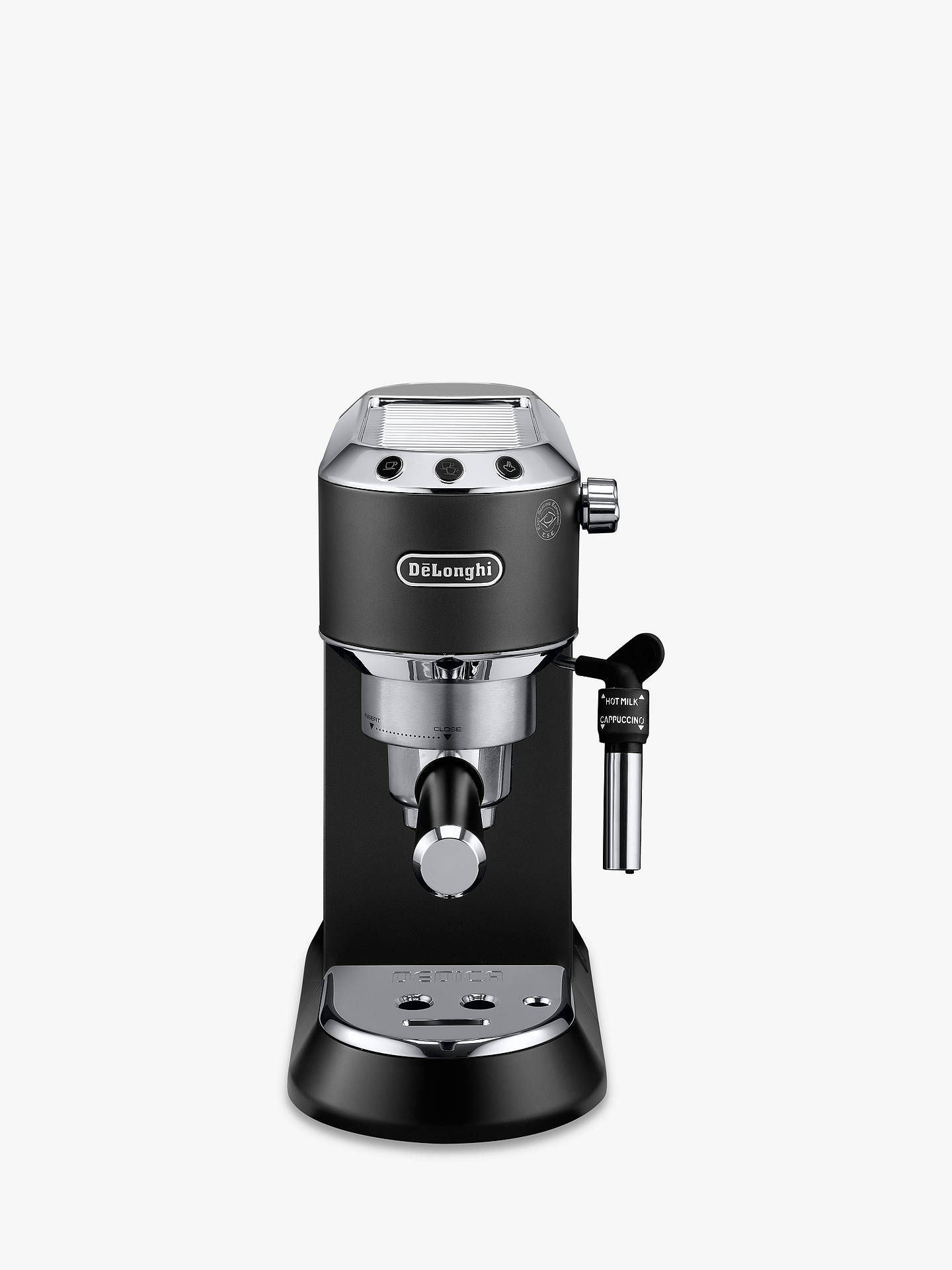 abe6eac131b8 De Longhi EC685 Dedica Style Pump Espresso Coffee Machine at John ...