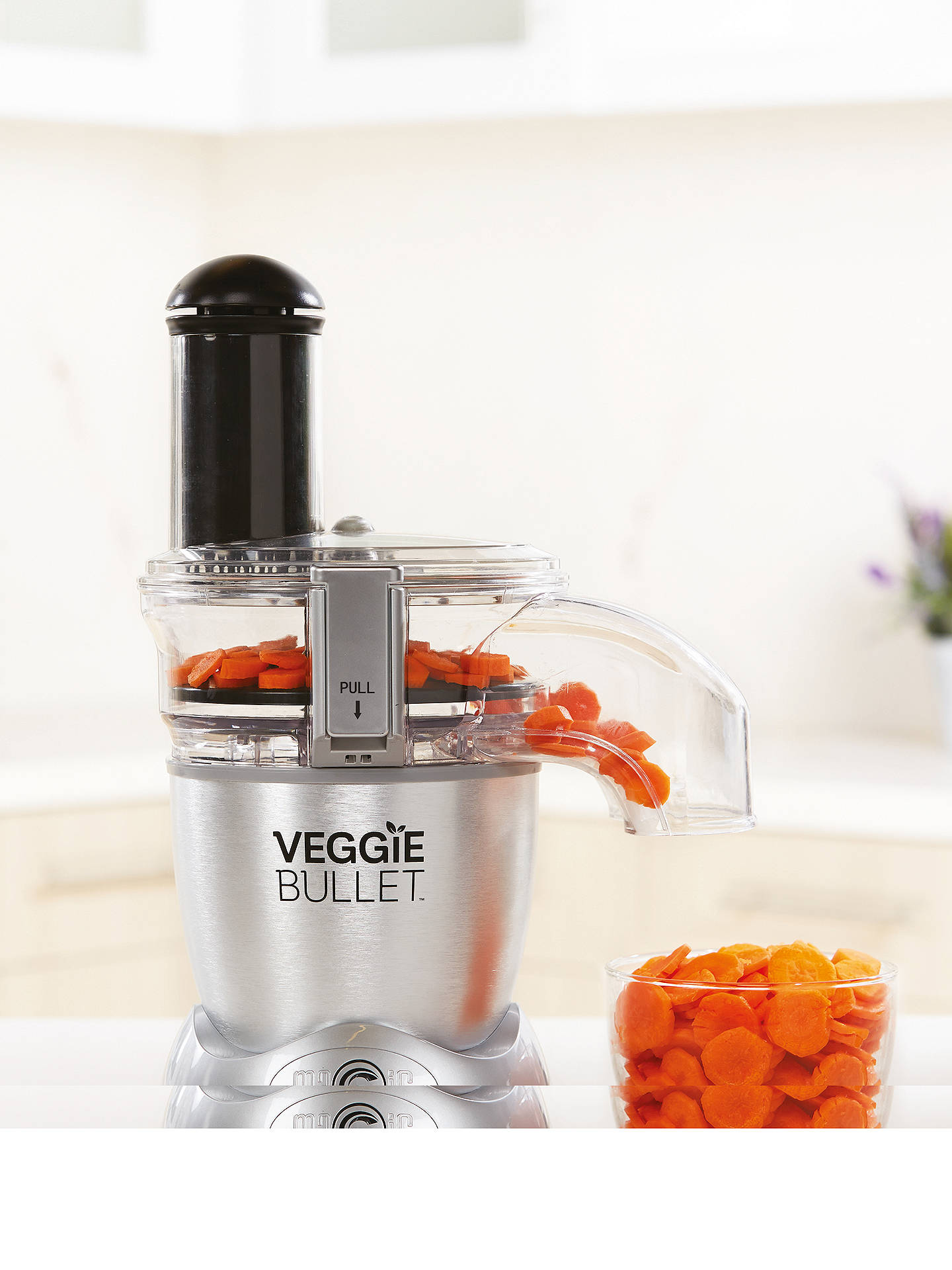 Buy VeggieBullet Electric Spiralizer, Shredder and Slicer, Silver Online at johnlewis.com
