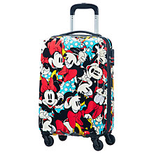 Buy American Tourister Minnie Mouse 55cm Cabin Case, Blue Online at johnlewis.com
