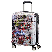 Buy American Tourister Avengers Rock 55cm Cabin Case, Grey Online at johnlewis.com