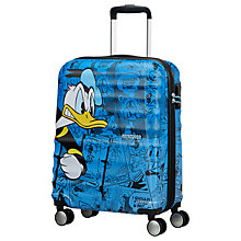 Buy American Tourister Donald Duck 55cm Cabin Case, Blue Online at johnlewis.com