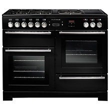 Buy Rangemaster Platinum 110 Dual Fuel Range Cooker Online at johnlewis.com