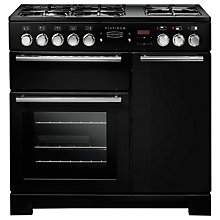 Buy Rangemaster Platinum 90 Dual Fuel Range Cooker Online at johnlewis.com