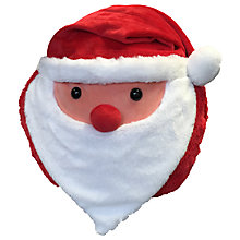 Buy Cozy Time Santa Hand Warmer Cuddle Cushion, Multi Online at johnlewis.com