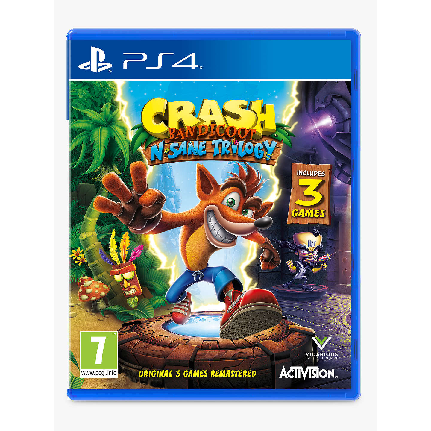BuyCrash Bandicoot N. Sane Trilogy, PS4 Online at johnlewis.com ...