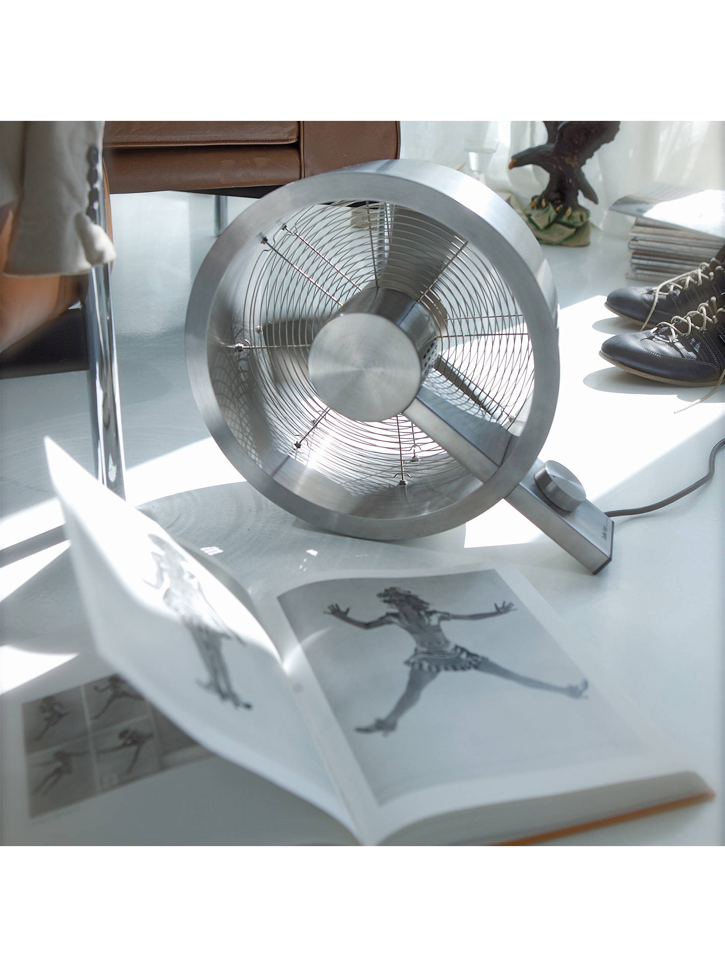 BuyStadler Form Q Fan, Silver Online at johnlewis.com