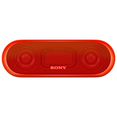 Sony SRS-XB20 Extra Bass Water-Resistant Bluetooth NFC Portable Speaker with LED Ring Lighting