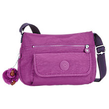 Buy Kipling Syro Shoulder Bag, Urban Pink Online at johnlewis.com