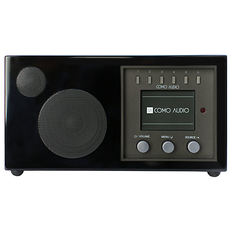 Buy Como Audio Solo DAB/DAB+/FM/Internet Radio with Wi-Fi, Bluetooth, NFC, Spotify Connect & Wireless Multiroom Online at johnlewis.com