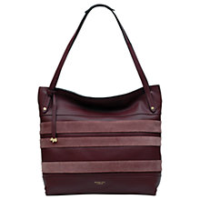 Buy Radley Willow Striped Leather Large Tote Bag Online at johnlewis.com