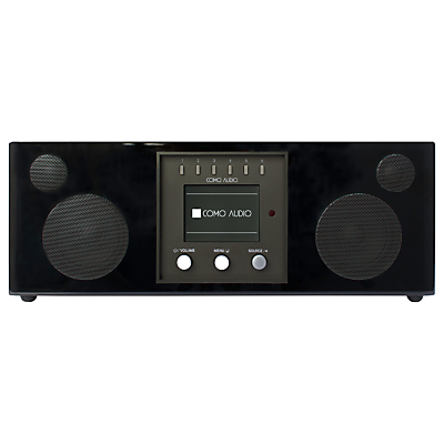 Image of Como Audio Duetto DAB/DAB+/FM/Internet Radio with Wi-Fi, Bluetooth, NFC, Spotify Connect & Wireless Multiroom