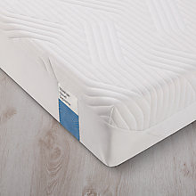 Buy Tempur Cloud Supreme 21 Memory Foam Mattress, Soft, European King Size Online at johnlewis.com