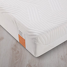 Buy Tempur Contour Supreme 21 Memory Foam Mattress, Firm, European King Size Online at johnlewis.com