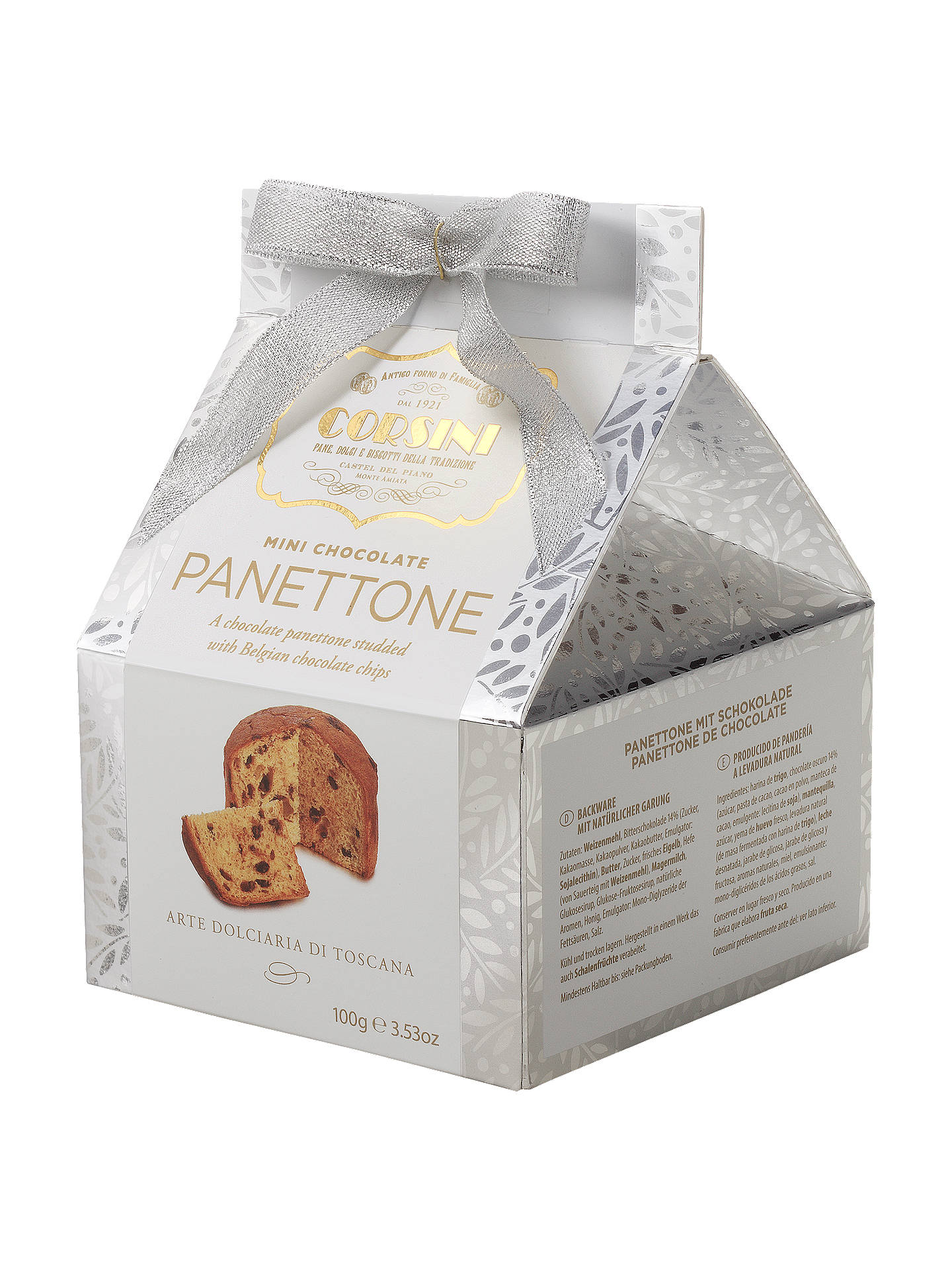 Corsini Mini Chocolate Panettone 100g At John Lewis Partners