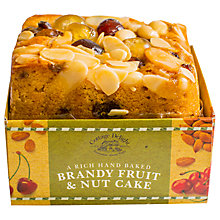 Buy Cottage Delight Brandy, Fruit & Nut Cake, 500g Online at johnlewis.com