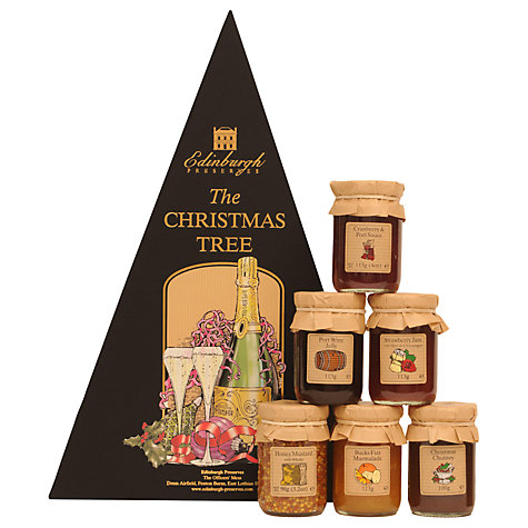 Buy Edinburgh Preserves Christmas Tree Box 642g  John Lewis